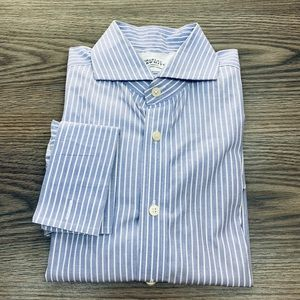 Charles Tyrwhitt Blue Stripe Dress Shirt 16-35